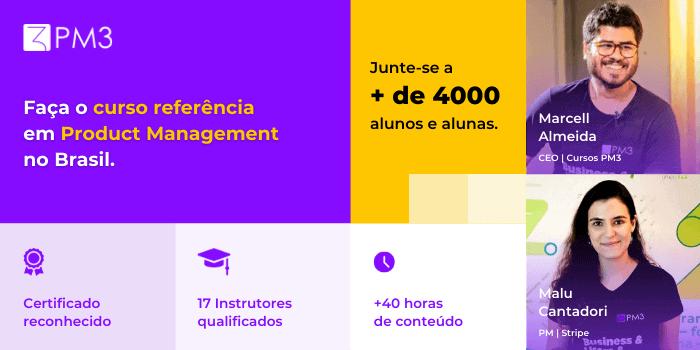 curso referência em Product Management no Brasil