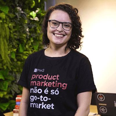 Isabela Pagliari Brun instrutora pm3 product marketing curso quintoandar